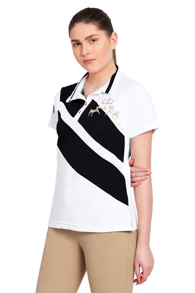 Equine Couture Ladies X-Press Short Sleeve Polo Sport Shirt_8