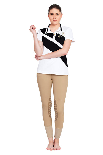 Equine Couture Ladies X-Press Short Sleeve Polo Sport Shirt_11