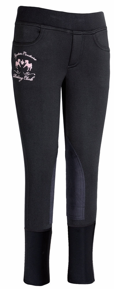 Equine Couture Children's Riding Club Pull-On Winter Breeches - Breeches.com