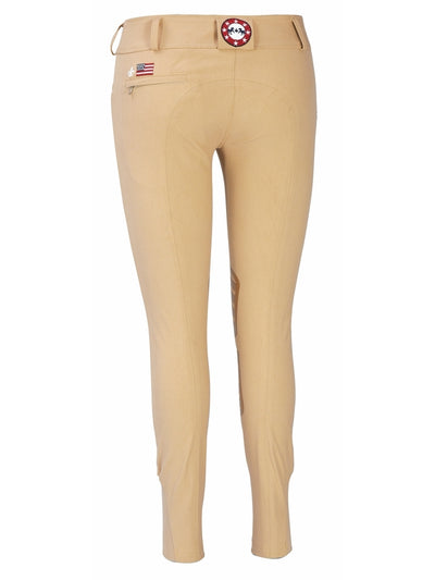 Equine Couture Ladies Brittni Silicone Knee Patch Breeches_24