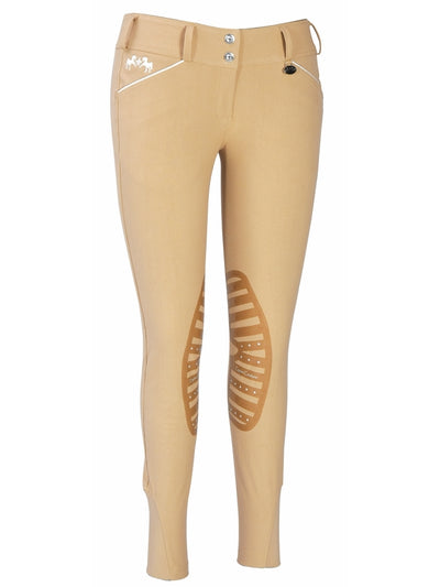 Equine Couture Ladies Brittni Silicone Knee Patch Breeches_23