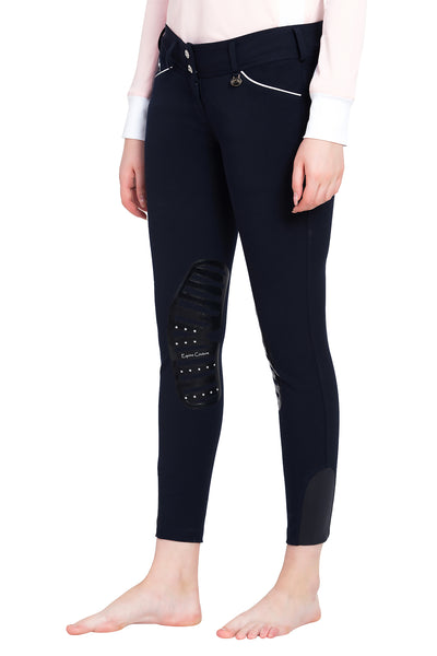 Equine Couture Ladies Brittni Silicone Knee Patch Breeches_7