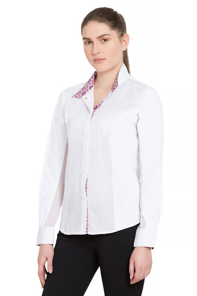 Equine Couture Ladies Kelsey Long Sleeve Show Shirt_2