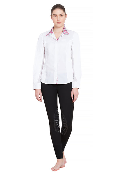 Equine Couture Ladies Kelsey Long Sleeve Show Shirt_5