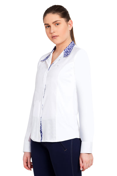Equine Couture Ladies Kelsey Long Sleeve Show Shirt_9