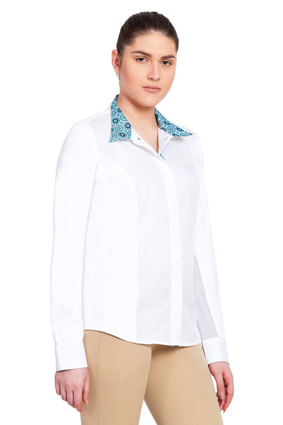 Equine Couture Ladies Kelsey Long Sleeve Show Shirt_16