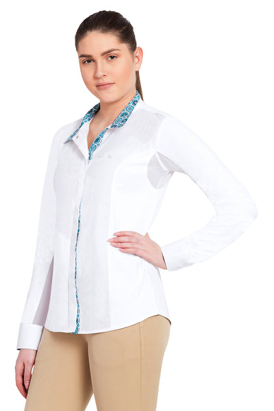 Equine Couture Ladies Kelsey Long Sleeve Show Shirt_15