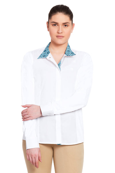 Equine Couture Ladies Kelsey Long Sleeve Show Shirt_14