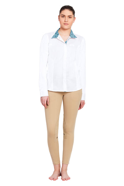 Equine Couture Ladies Kelsey Long Sleeve Show Shirt_19