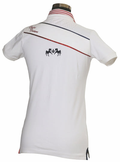 Equine Couture Children's Skyler Short Sleeve Polo - Equine Couture - Breeches.com