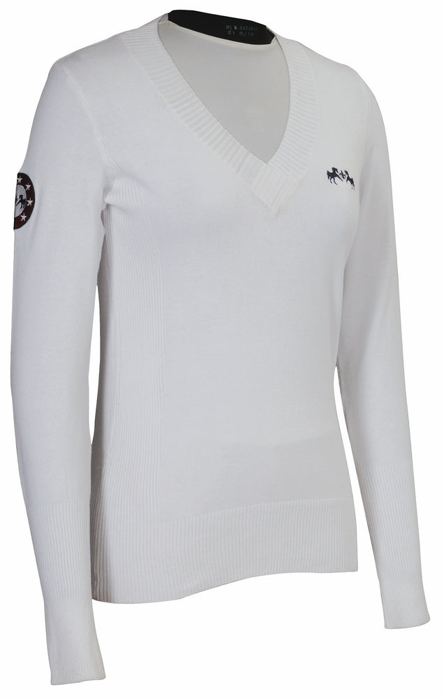 Equine Couture Ladies Patriot Slim Fit Sweater - Equine Couture - Breeches.com