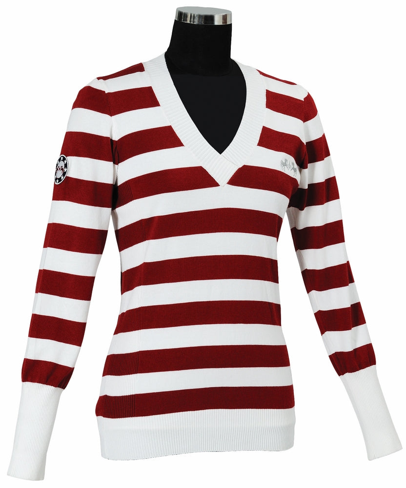 Equine Couture Ladies Catamaran Slim Fit Sweater_1