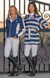 Equine Couture Ladies Nautical Rainshell Jacket - Equine Couture - Breeches.com