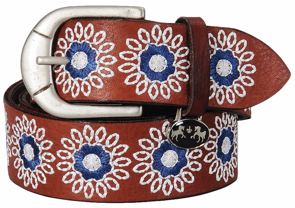 Equine Couture Sophia Leather Belt - Breeches.com