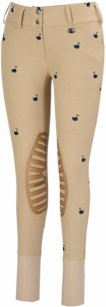 Equine Couture Ladies Whales Breeches - Breeches.com
