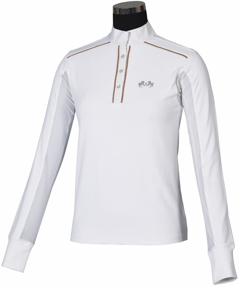 Ladies Rio Long Sleeve Show Shirt - Equine Couture - Breeches.com