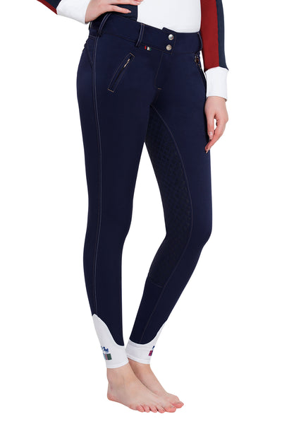 Equine Couture Ladies Beatta Silicone Full Seat Breeches_14