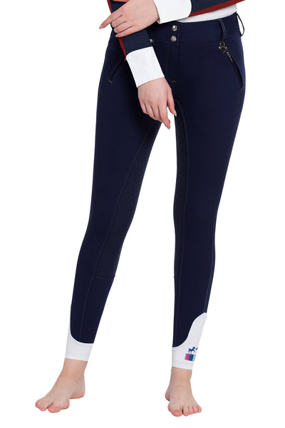 Ladies Beatta Silicone Full Seat Breeches - Equine Couture - Breeches.com