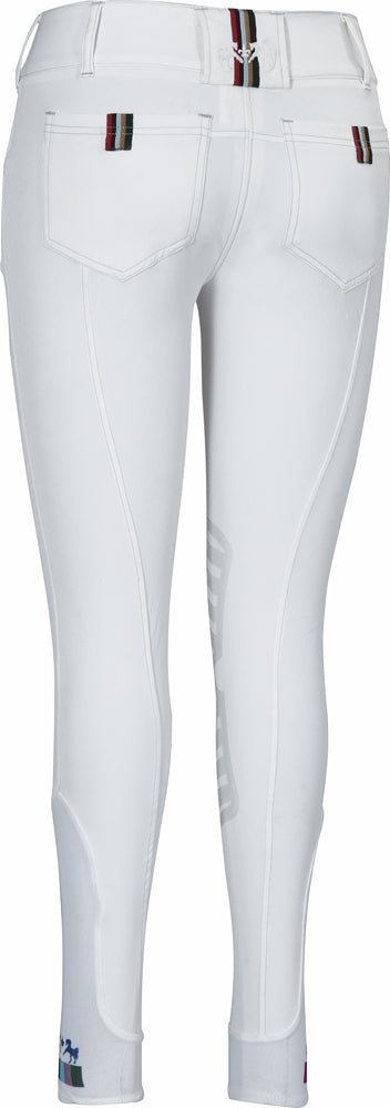 Equine Couture Ladies Brinley Silicone Knee Patch Breeches_2
