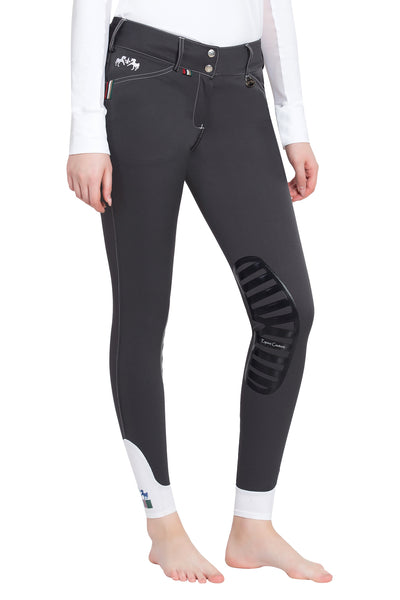 Equine Couture Ladies Brinley Silicone Knee Patch Breeches_6