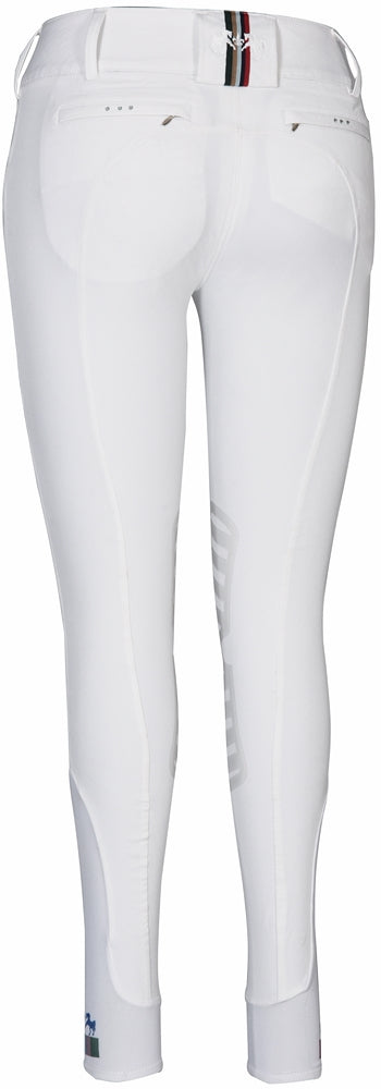 Equine Couture Ladies Fiona Silicone Knee Patch Breeches_2