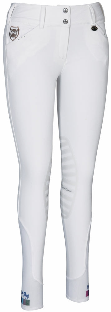 Equine Couture Ladies Fiona Silicone Knee Patch Breeches_1