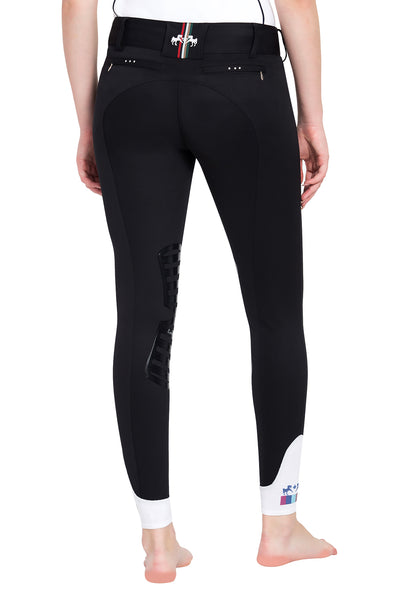 Equine Couture Ladies Fiona Silicone Knee Patch Breeches_6