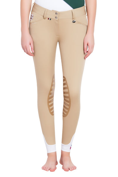 Equine Couture Ladies Fiona Silicone Knee Patch Breeches_8