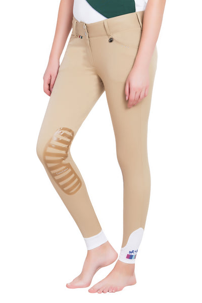 Equine Couture Ladies Fiona Silicone Knee Patch Breeches_7