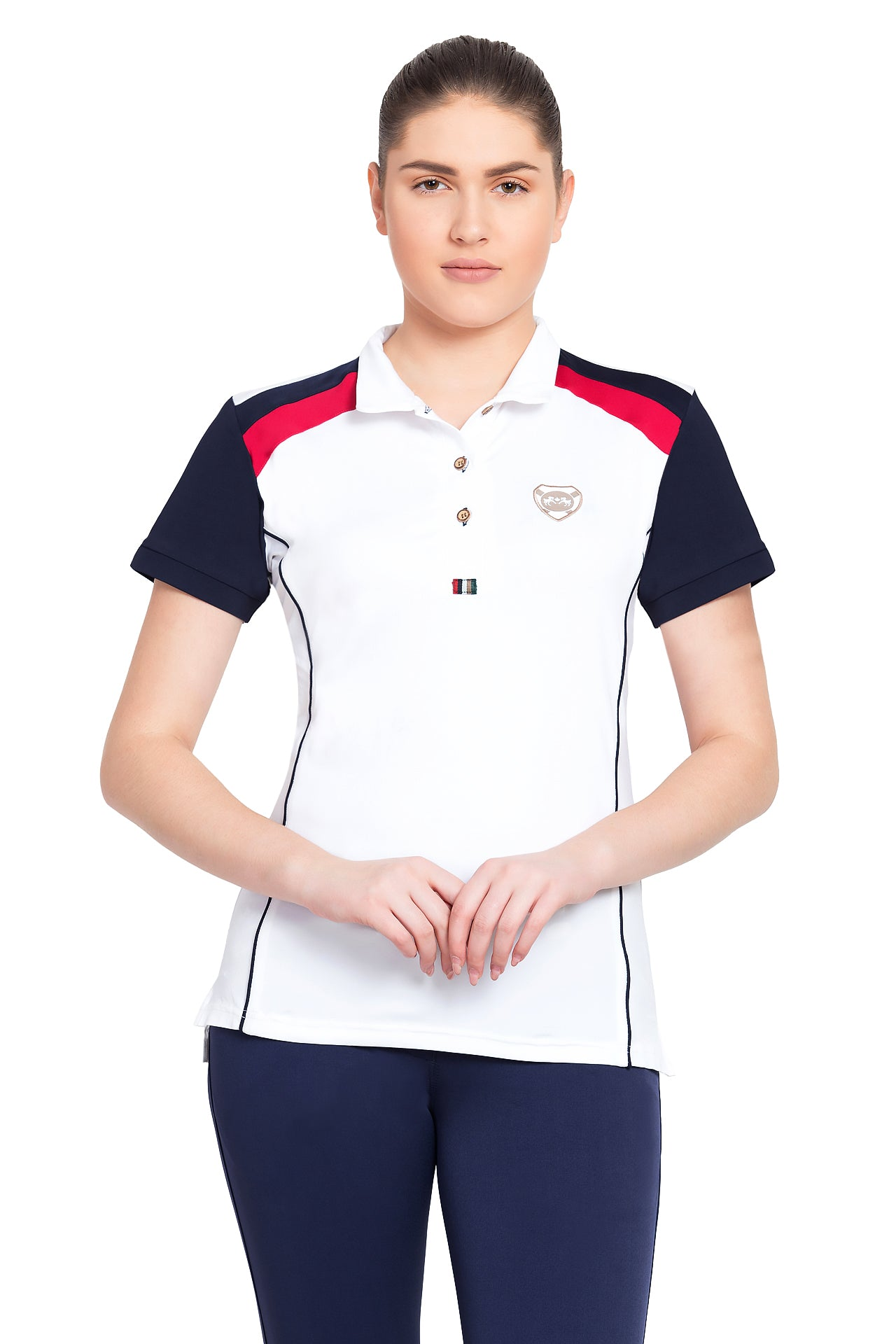 Equine Couture Ladies Carrington Polo Sport Shirt_1