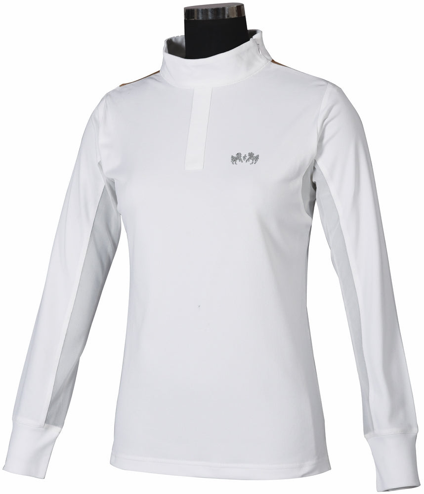 Equine Couture Ladies Darsy Show Shirt_1