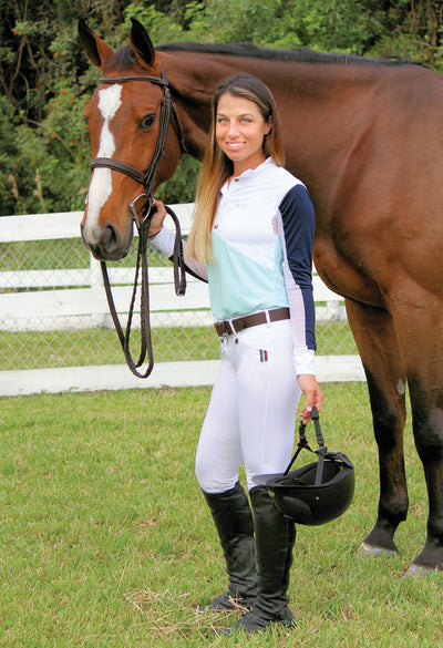 Equine Couture Ladies Sawyer Show Shirt - Breeches.com