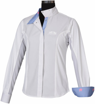 Equine Couture Children's Whales Show Shirt - Equine Couture - Breeches.com