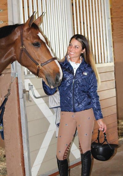 Equine Couture Ladies Kendall Quilted Jacket - Equine Couture - Breeches.com