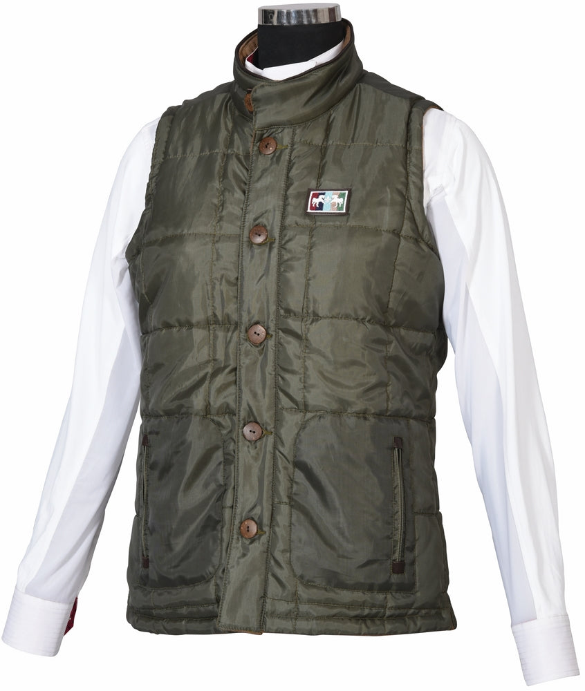 Equine Couture Ladies Finley Reversible Vest - Equine Couture - Breeches.com