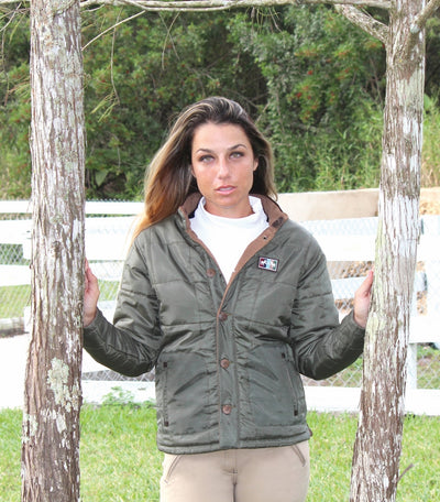 Equine Couture Ladies Finley Reversible Jacket - Equine Couture - Breeches.com