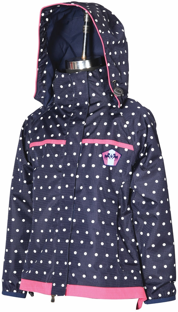 Children's Delia Rain Shell Jacket - Equine Couture - Breeches.com