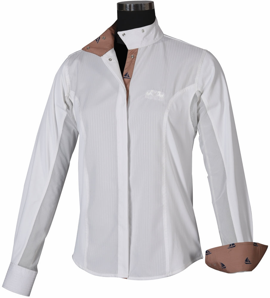 Ladies Boat Show Shirt - Equine Couture - Breeches.com