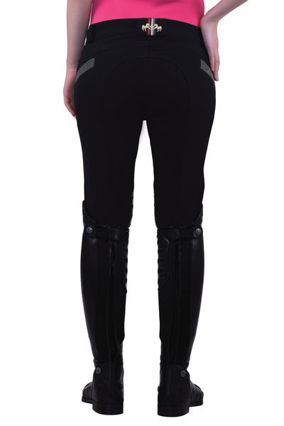 Equine Couture Ladies Sarah Silicone Knee Patch Breeches_16