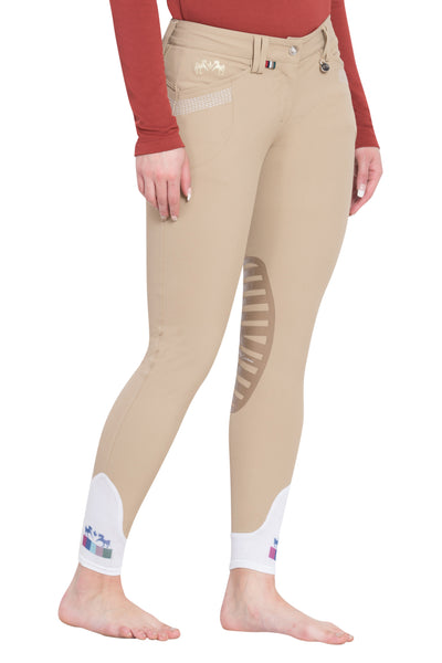 Equine Couture Ladies Sarah Silicone Knee Patch Breeches_19