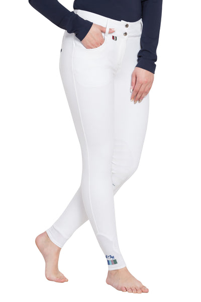 Equine Couture Ladies Sophie Silicone Knee Patch Breeches_3