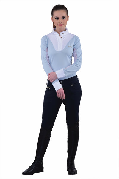 Equine Couture Ladies Sophie Silicone Knee Patch Breeches_8