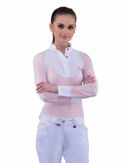 Equine Couture Ladies Maggie Long Sleeve Show Shirt_7