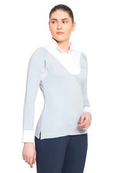 Equine Couture Ladies Maggie Long Sleeve Show Shirt_3