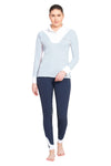 Equine Couture Ladies Maggie Long Sleeve Show Shirt - Breeches.com