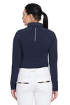 Equine Couture Ladies Performance Long Sleeve Polo Sport Shirt_4