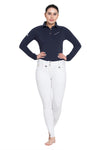 Equine Couture Ladies Performance Long Sleeve Polo Sport Shirt_5