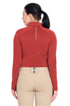 Equine Couture Ladies Performance Long Sleeve Polo Sport Shirt_10
