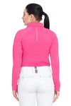 Equine Couture Ladies Performance Long Sleeve Polo Sport Shirt_28
