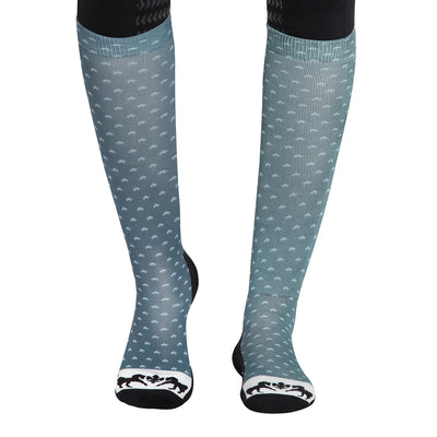 Equine Couture Ladies Hunter Padded Knee Hi Boot Socks - Breeches.com